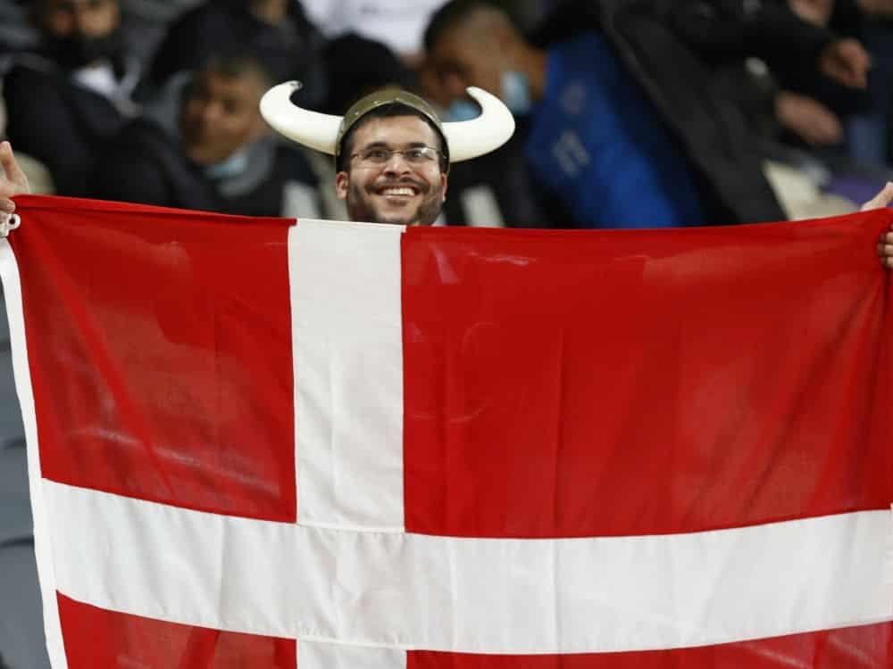 In Kopenhagen dürfen mehr Fans zu den EM-Spielen. ©SID JACK GUEZ