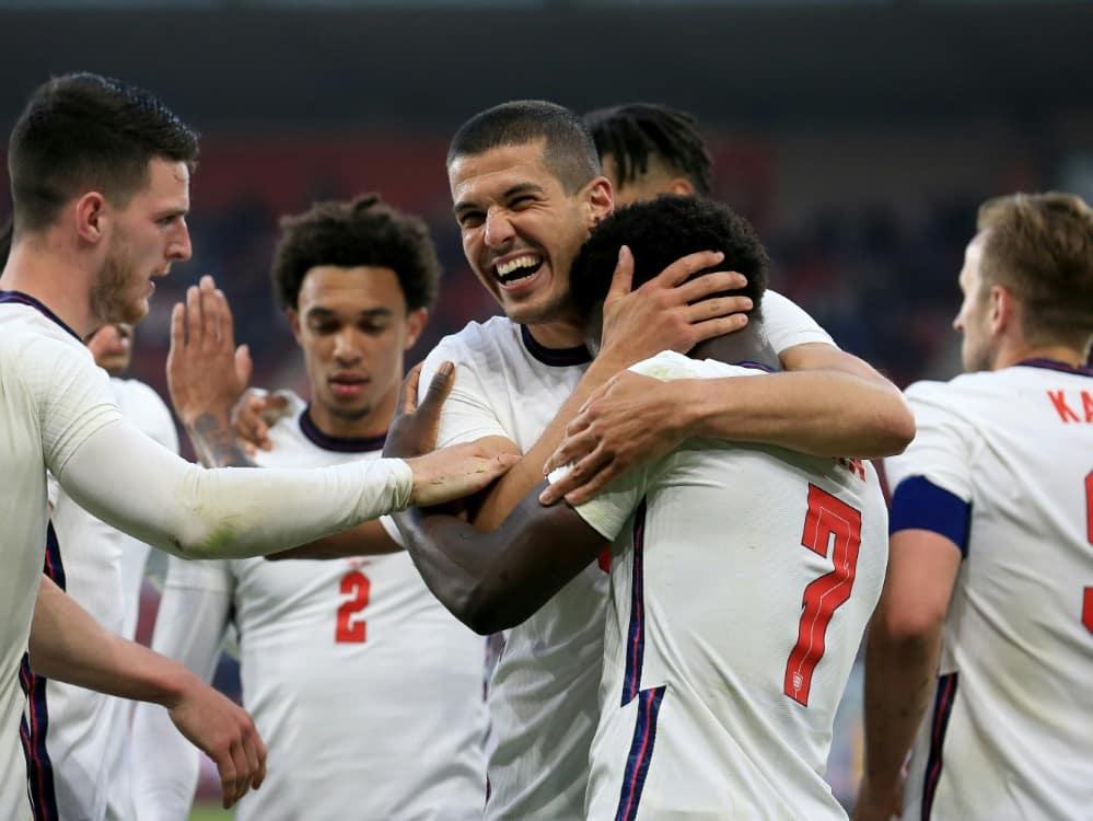 England müht sich zu einem 1:0 gegen Österreich. ©SID Lindsey Parnaby