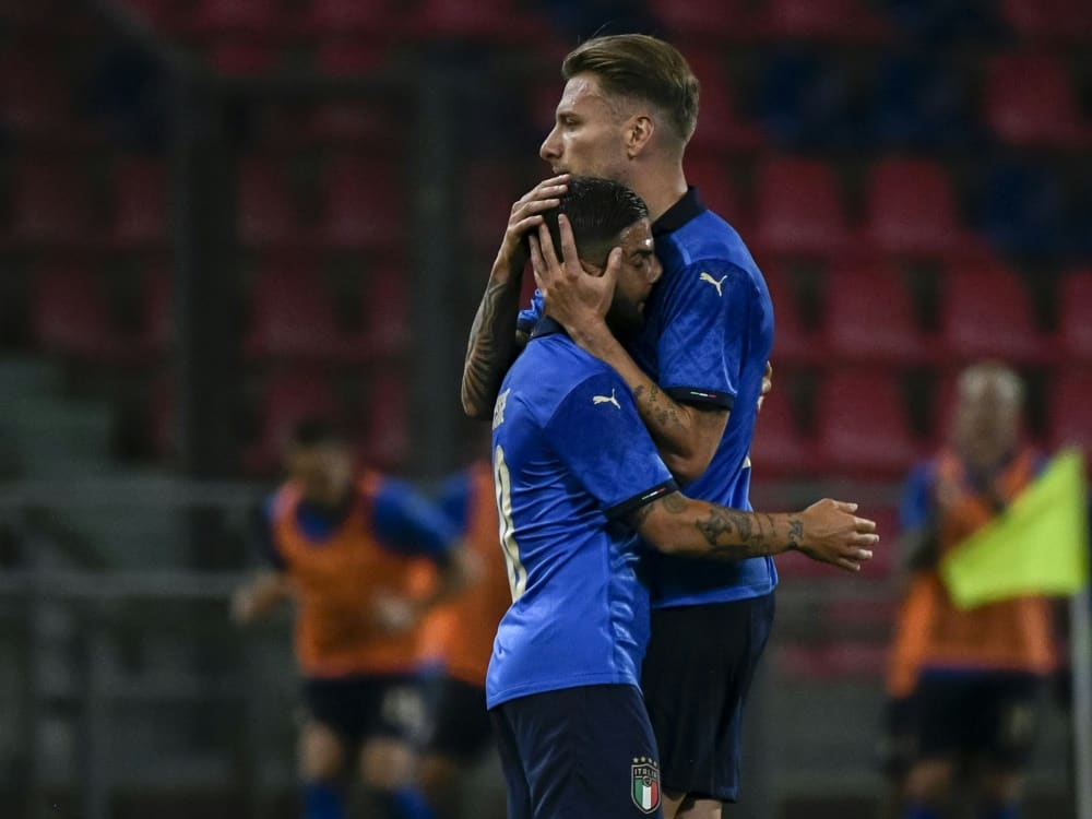 Erfolg über Tschechien im Testspiel für die Italiener. ©SID FILIPPO MONTEFORTE