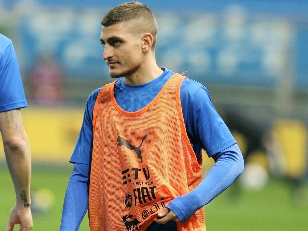 Marco Verratti kann gegen die Türkei nicht spielen. ©FIRO/SID