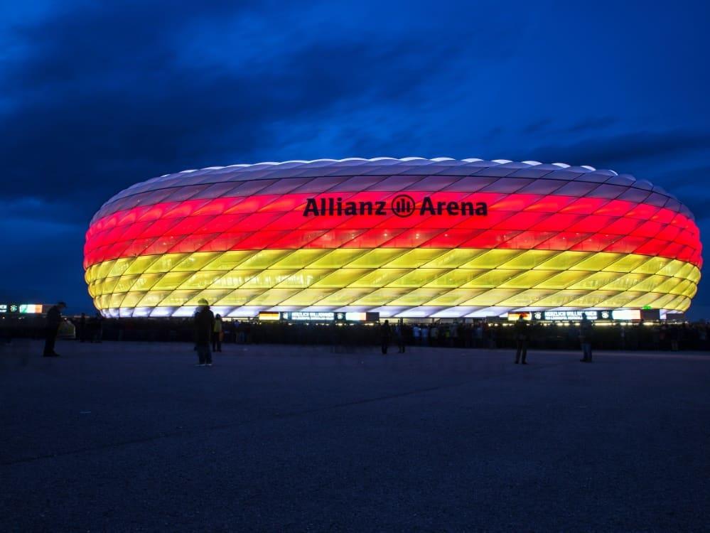 In München müssen am Platz die Masken getragen werden. ©FIRO/SID