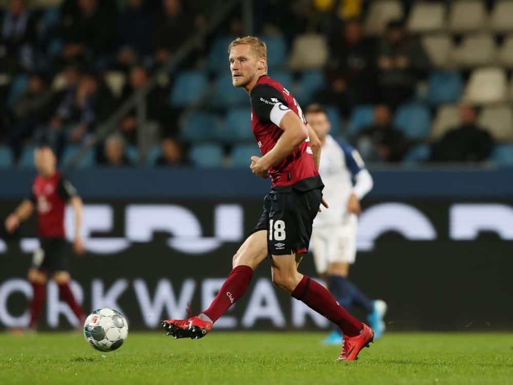 Hanno Behrens wechselt ablösefrei zu Hansa Rostock. ©FIRO/SID