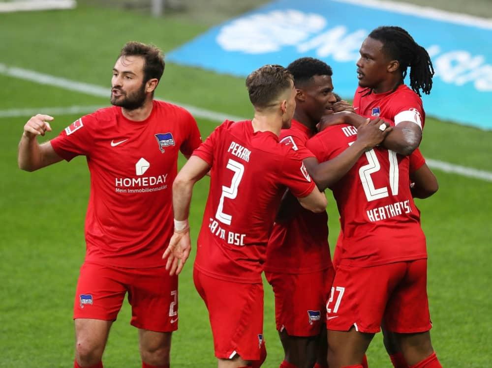 Hertha BSC bekommt einen neuen Hauptsponsor. ©FIRO/Ottmar Winter/SID Ottmar Winter/pool/viafirosportphoto