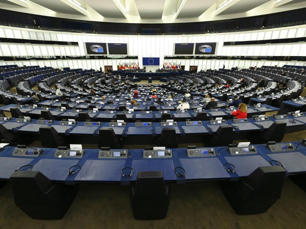 Das Europa-Parlament fordert Kappung der Spielergehälter. ©SID FREDERICK FLORIN