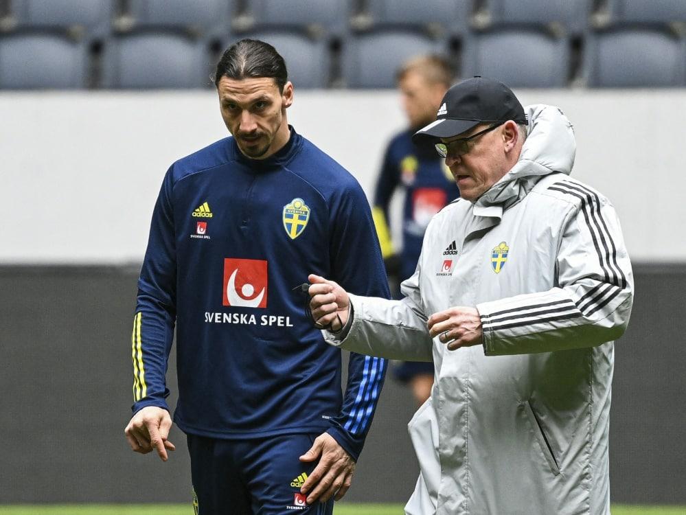 Ibrahimovic steht als Retter nicht zur Verfügung. ©SID JONATHAN NACKSTRAND