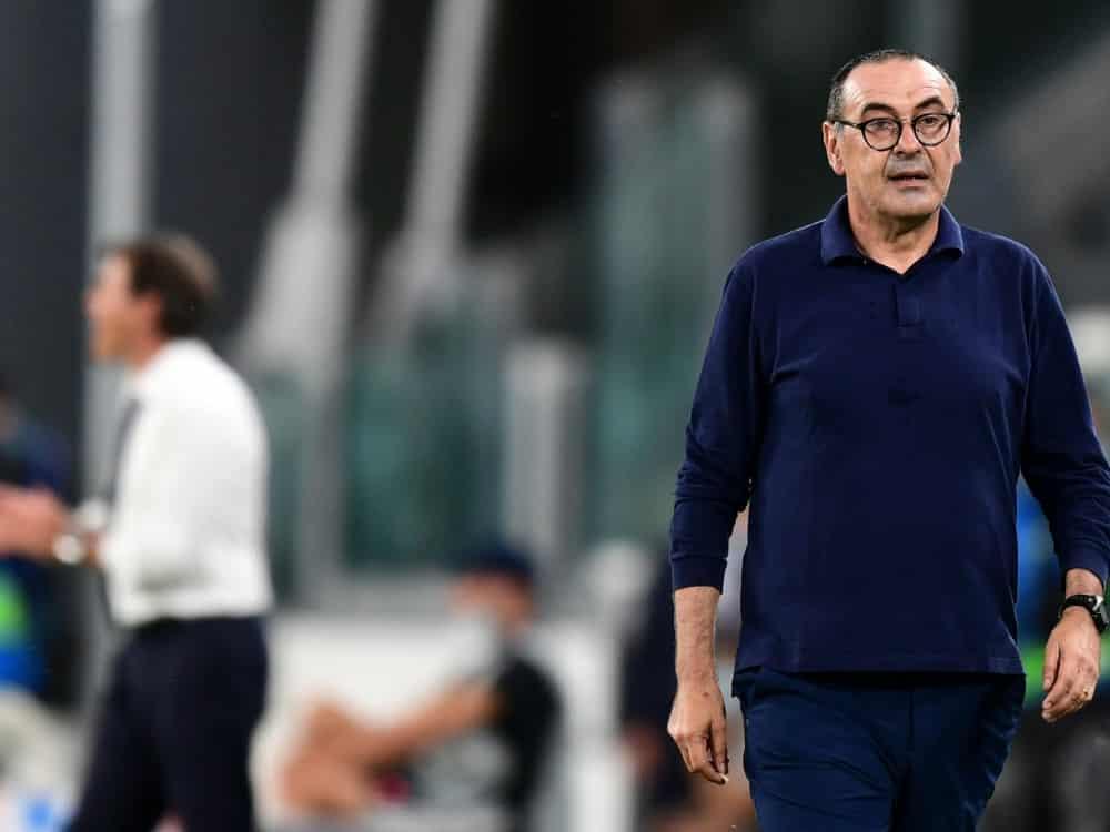 Maurizio Sarri übernimmt Lazio Rom . ©SID MIGUEL MEDINA