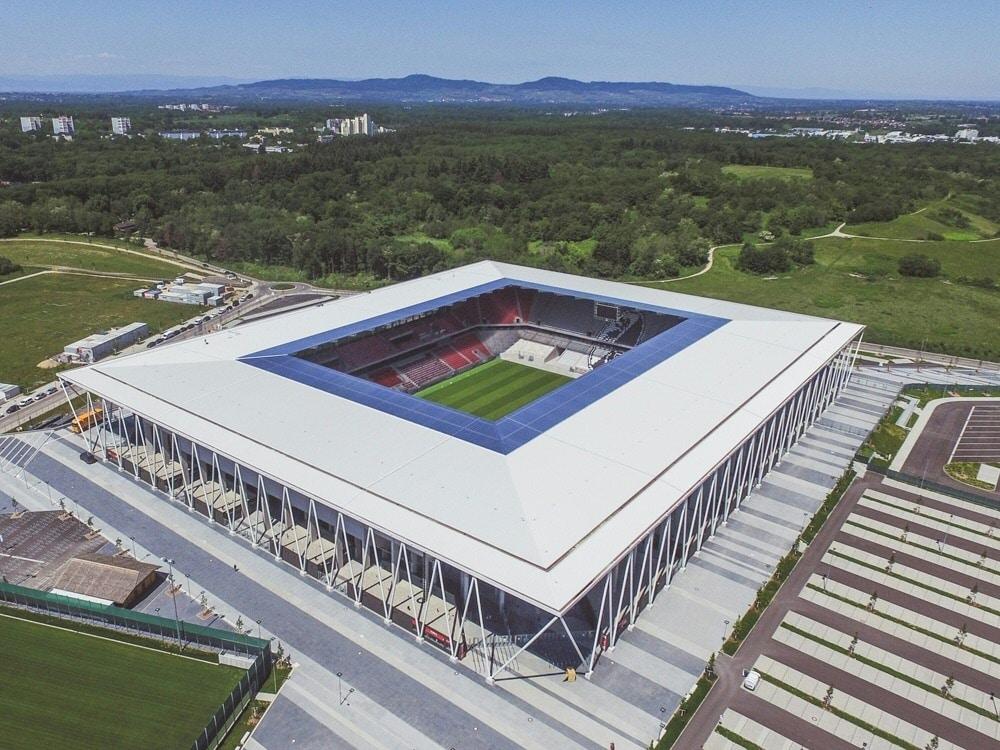 Neues Stadion des SC Freiburg erhält Solaranlage. ©SC FREIBURG/SC FREIBURG