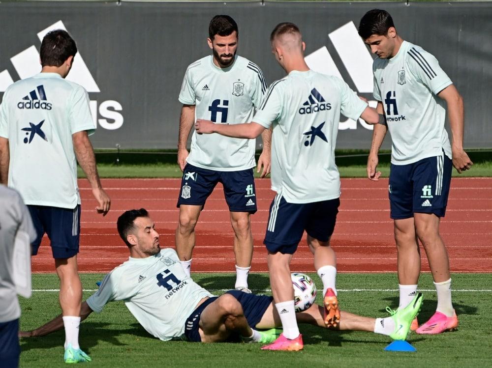 Die spanische Nationalmannschaft soll geimpft werden. ©SID JAVIER SORIANO