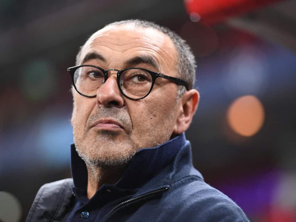 Medien: Maurizio Sarri soll Lazio Rom übernehmen. ©SID KIRILL KUDRYAVTSEV