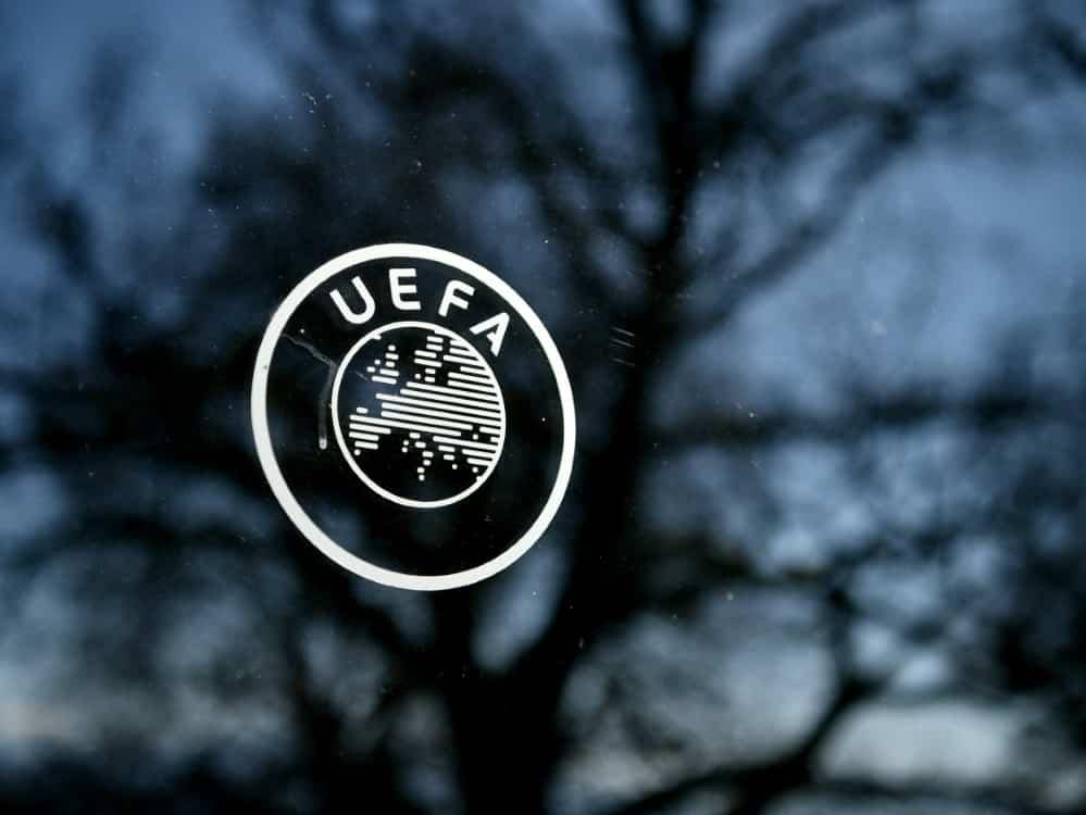 Die UEFA wird bei der EM weniger Preisgeld ausschütten. ©SID FABRICE COFFRINI