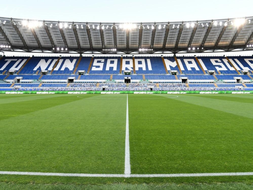 Testpflicht für Zuschauer bei EM-Spielen in Rom. ©SID ALBERTO PIZZOLI