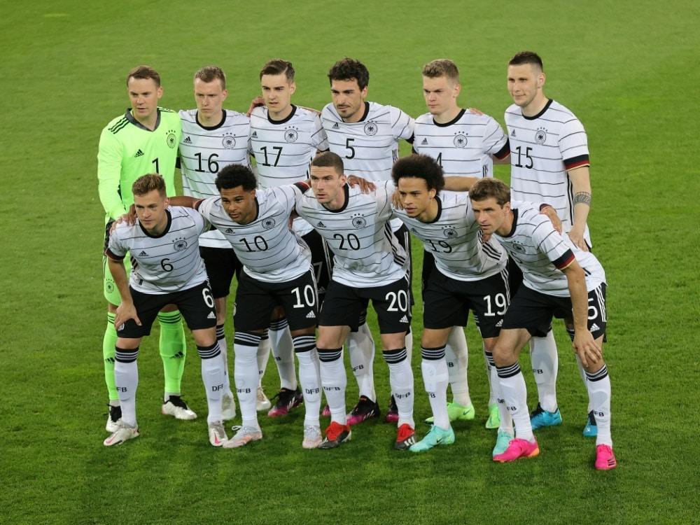 Das Spiel gegen Lettland soll weiterhin stattfinden. ©FIRO/SID