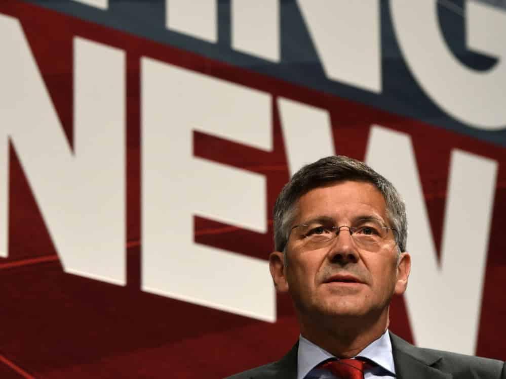 Herbert Hainer bedauert die Entscheidung der UEFA. ©SID CHRISTOF STACHE