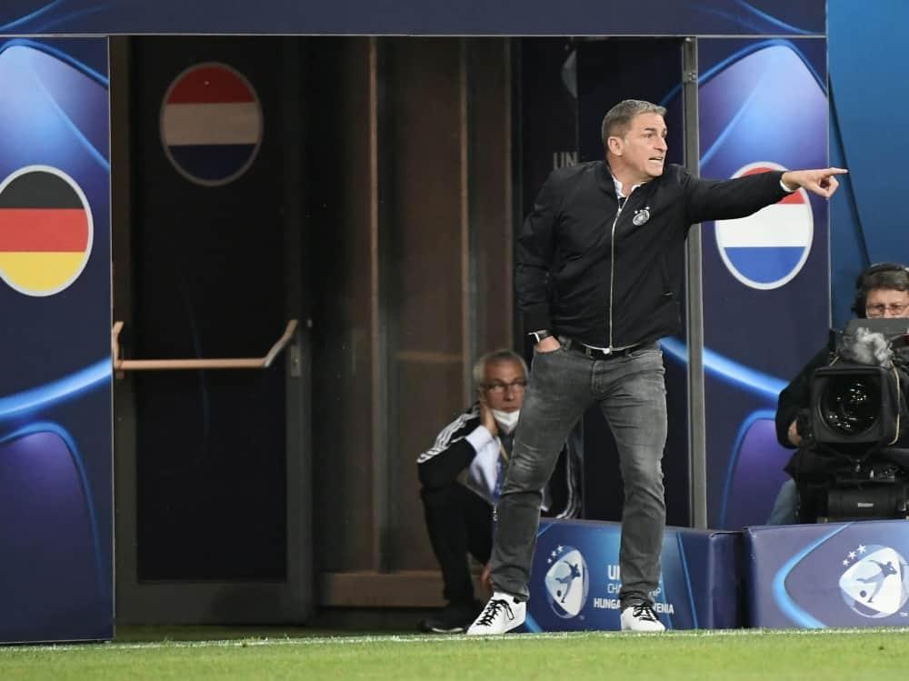 Der DFB hofft auf einen langfristigen Verbleib von Kuntz. ©SID ATTILA KISBENEDEK