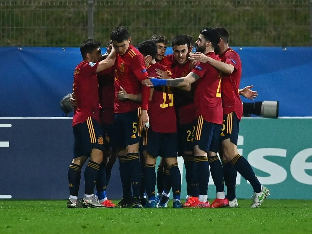 Spaniens U21 gewinnt mit 4:0 gegen Litauen. ©SID JOE KLAMAR