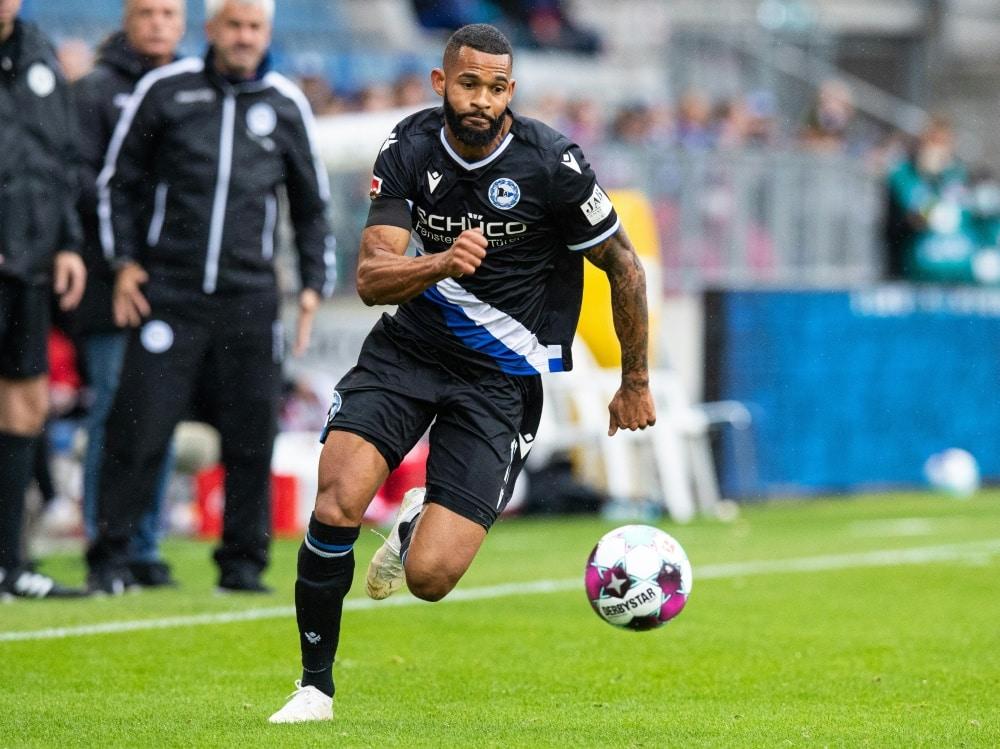 Cebio Soukou wechselt zum SV Sandhausen. ©FIRO/SID