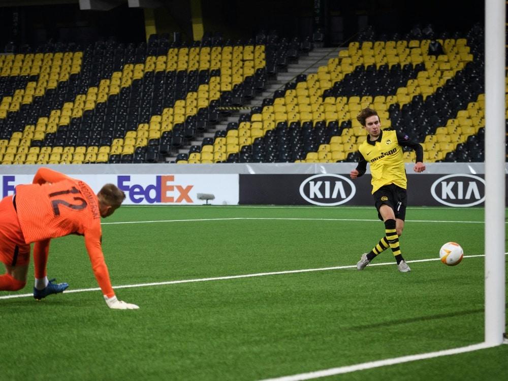 Gianluca Gaudino wechselt zum SV Sandhausen. ©SID FABRICE COFFRINI