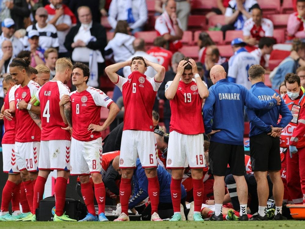 Dänemark kritisiert UEFA nach Eriksen-Zusammenbruch. ©SID FRIEDEMANN VOGEL