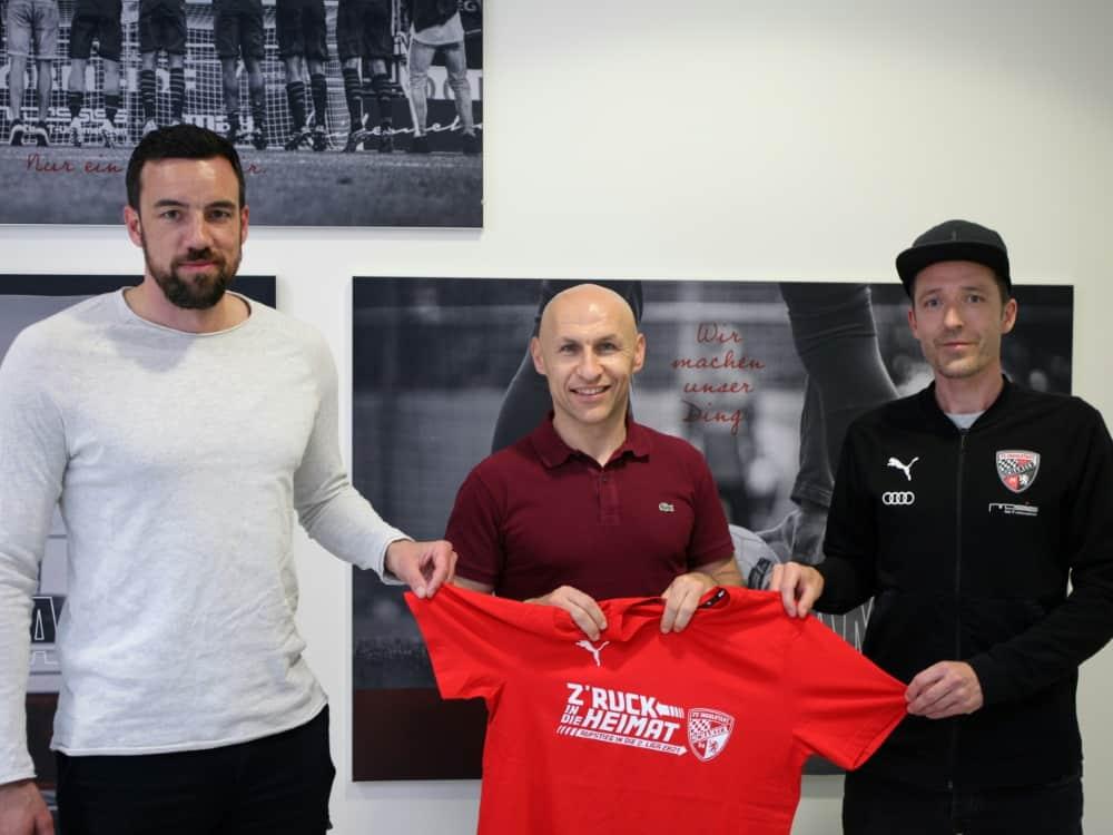 Roberto Pätzold neuer Trainer bei Ingolstadt. ©FCI/FCI