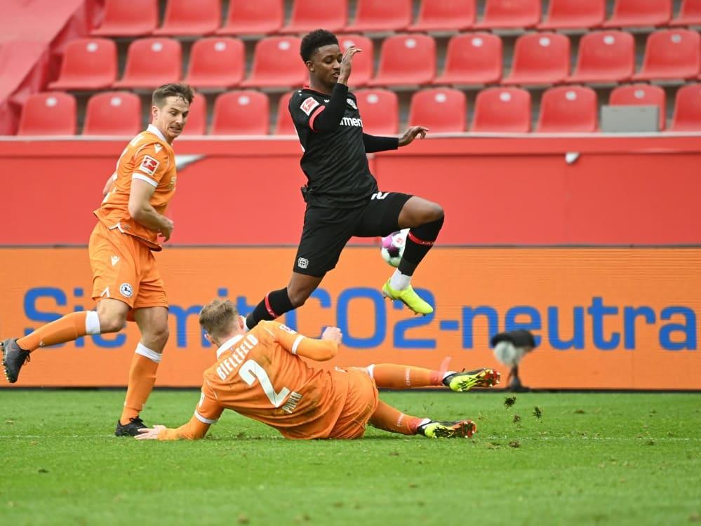 Gray verlässt Leverkusen nach einer halben Saison. ©SID INA FASSBENDER