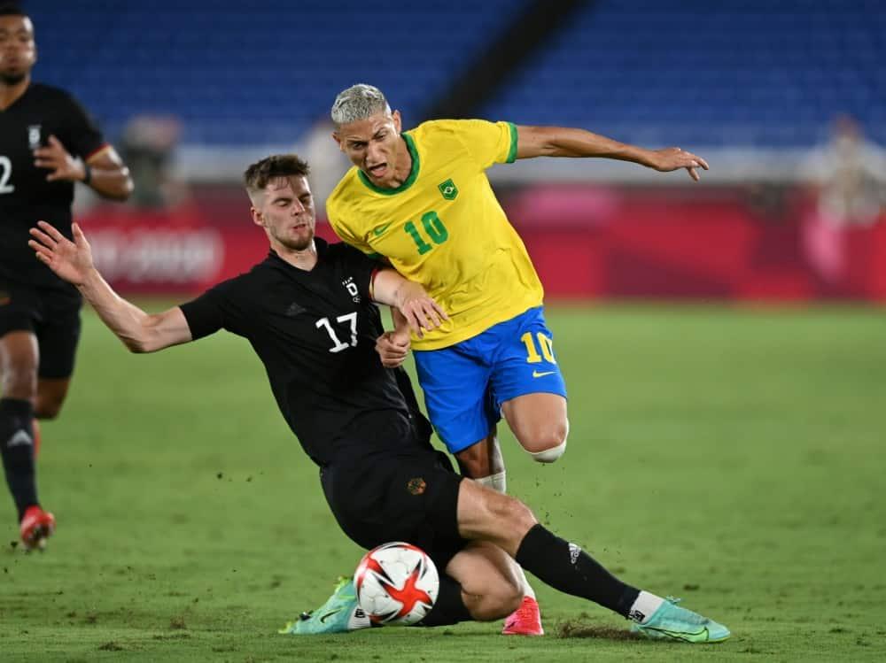 Deutschland verliert  Auftakt gegen Brasilien. ©SID DANIEL LEAL-OLIVAS