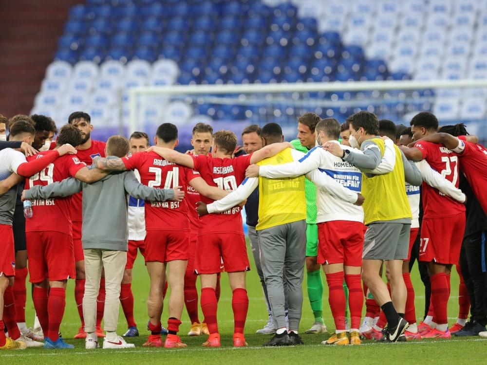 Hertha nur 1:1 gegen Regionalligisten. ©FIRO/SID Ralf Ibing