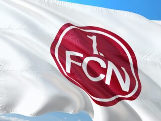 Nürnberg Logo Flagge FCN Fußball