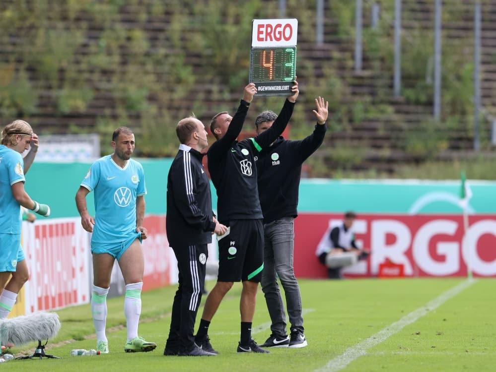Pokal-Aus: Wolfsburg legt Berufung gegen das Urteil ein. ©FIRO/SID