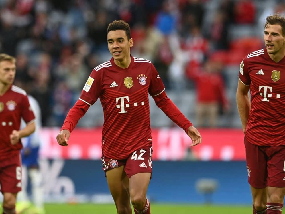 Bayern spielt im DFB-Pokal gegen Gladbach. ©SID CHRISTOF STACHE