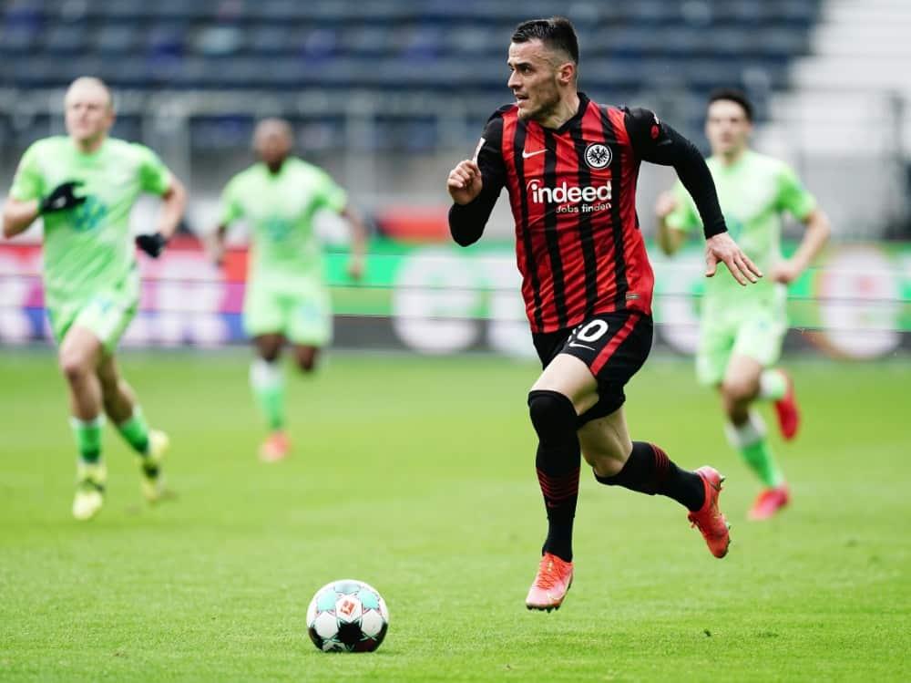 Kostic schwänzt Eintracht-Training und will wechseln. ©FIRO/SID