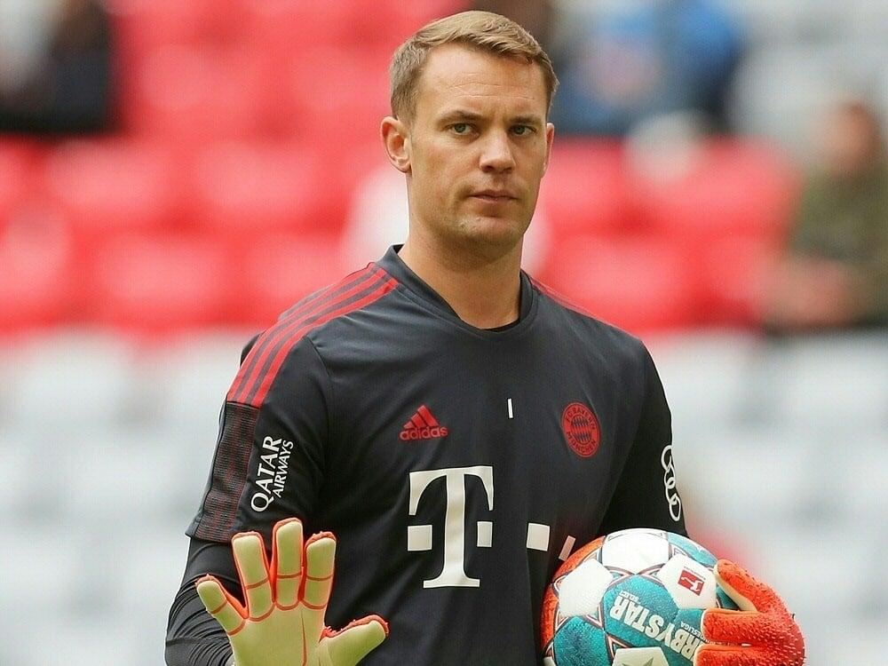Neuer fällt für das DFB-Pokalspiel aus. ©FIRO/SID