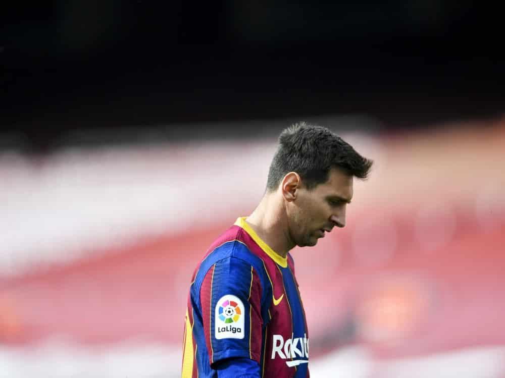 Keine schnelle Einigung mit Barca in Sicht: Lionel Messi. ©SID PAU BARRENA