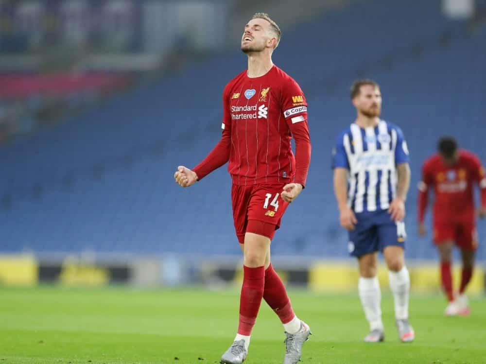 Henderson bleibt Liverpool auch weiterhin erhalten. ©FIRO/SID