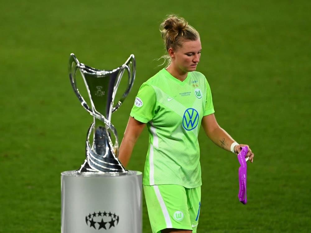 VfL Wolfsburg will sich wieder nach oben spielen. ©SID GABRIEL BOUYS