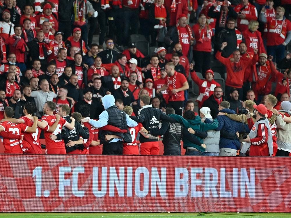 Union erwischt machbare Gruppe in der Conference League. ©SID JOHN MACDOUGALL