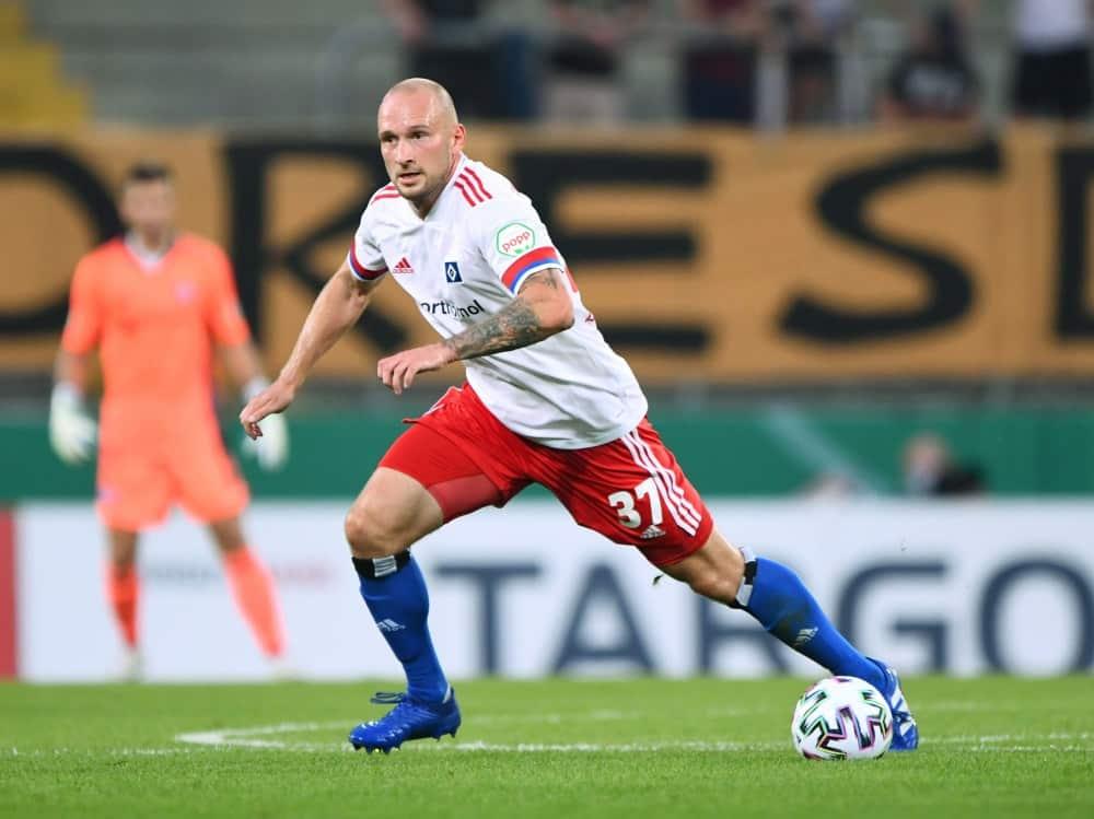 Toni Leistner soll sich vom HSV trennen. ©firo Sportphoto/SID