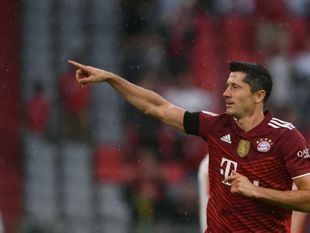 Robert Lewandowski wird wohl nicht Fußballer des Jahres. ©SID CHRISTOF STACHE