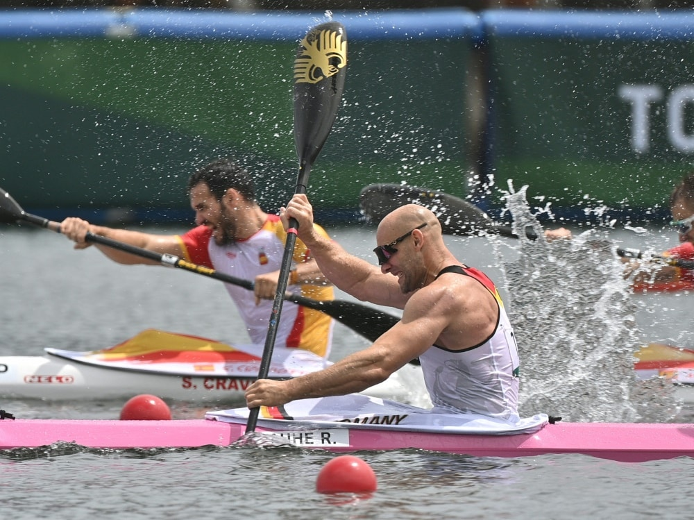 Der zweimalige Kanu-Olympiasieger Ronald Rauhe. ©SID PHILIP FONG