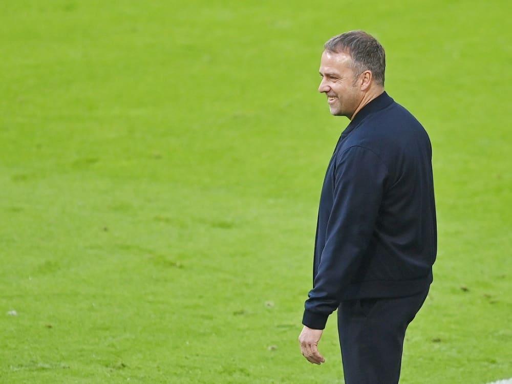 DFB: Flick fordert viel Leidenschaft von seinem Team. ©FIRO/SID