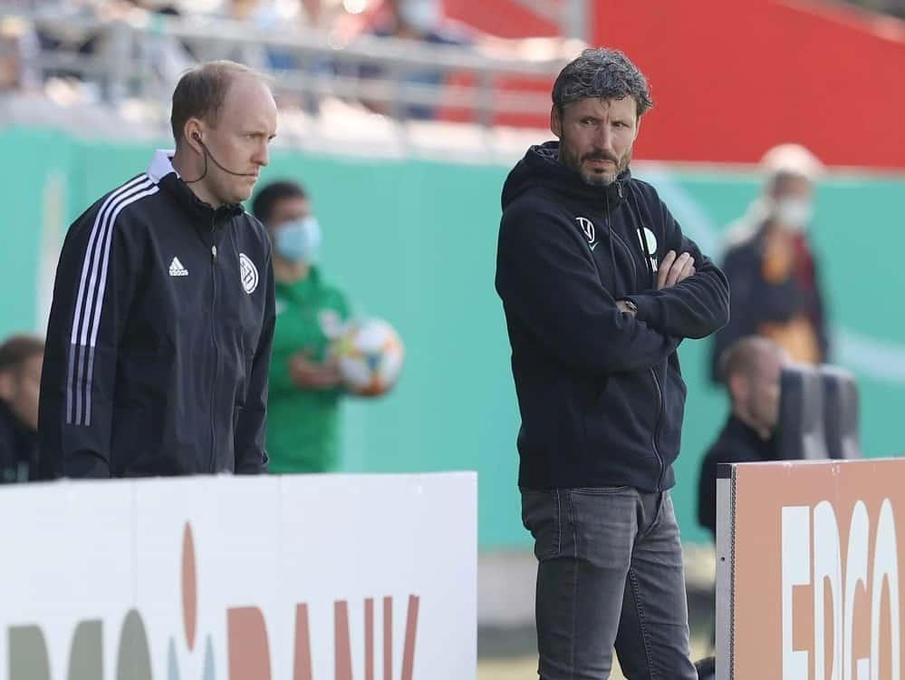 Wolfsburg fliegt endgültig aus dem Pokal. ©FIRO/SID