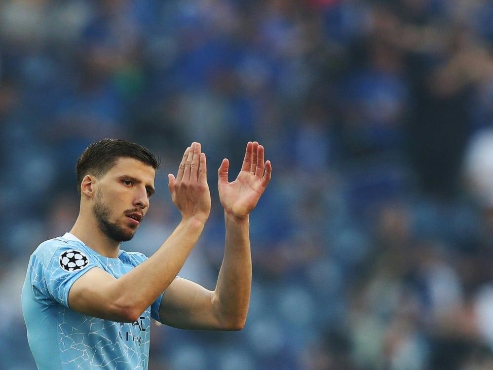Dias unterschreibt neuen Vertrag bei Manchester City. ©SID JOSE COELHO