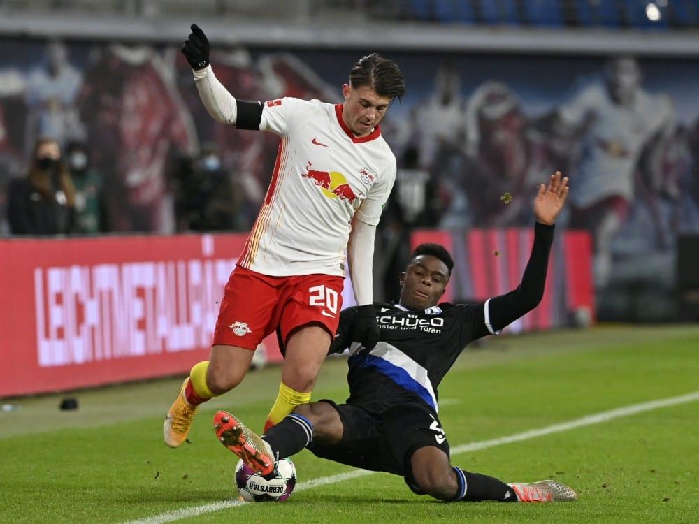Verlässt Leipzig in Richtung Udinese: Lazar Samardzic. ©SID JOHN MACDOUGALL