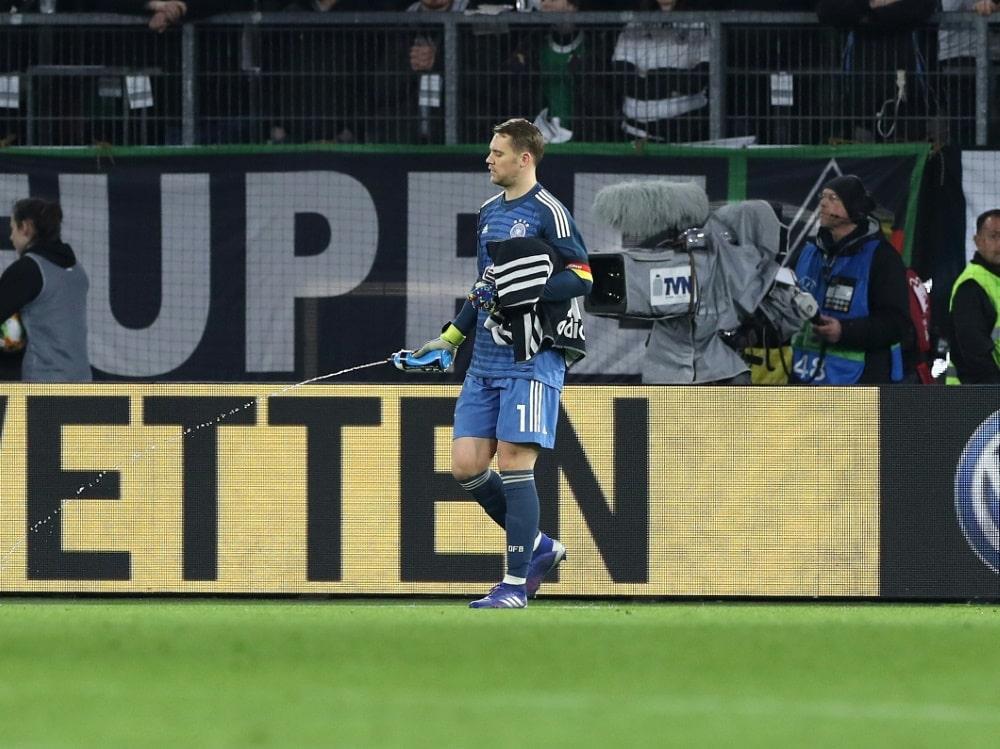 DFB-Elf mit einer 10,00 Sportwetten-Quote auf WM-Titel . ©FIRO/SID