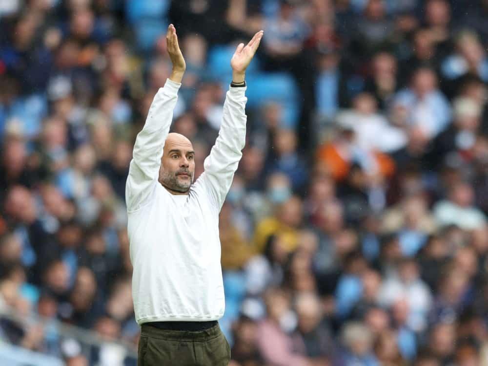 Guardiola dementiert seinen Entschluss. ©SID ADRIAN DENNIS