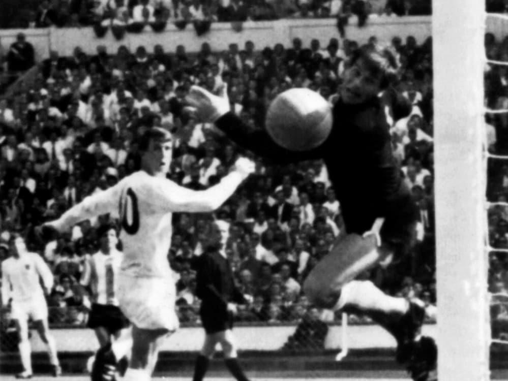 Die Sechziger waren eine goldene Zeit des Fußballs. ©SID STRINGER