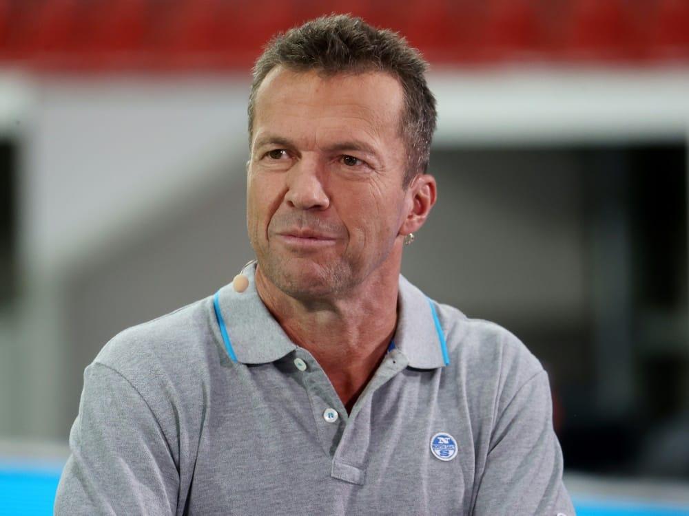 Matthäus sieht eine erfolgreiche DFB-Zukunft. ©FIRO/SID