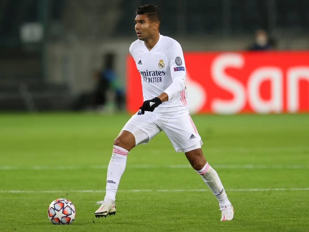 Casemiro spielt seit 2013 für Real Madrid . ©FIRO/SID