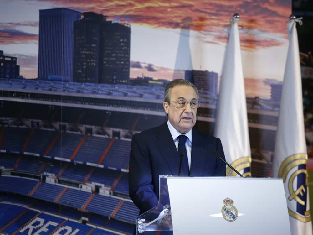 Real Madrid kritisiert den Verkauf von LaLiga-Anteilen. ©SID BENJAMIN CREMEL