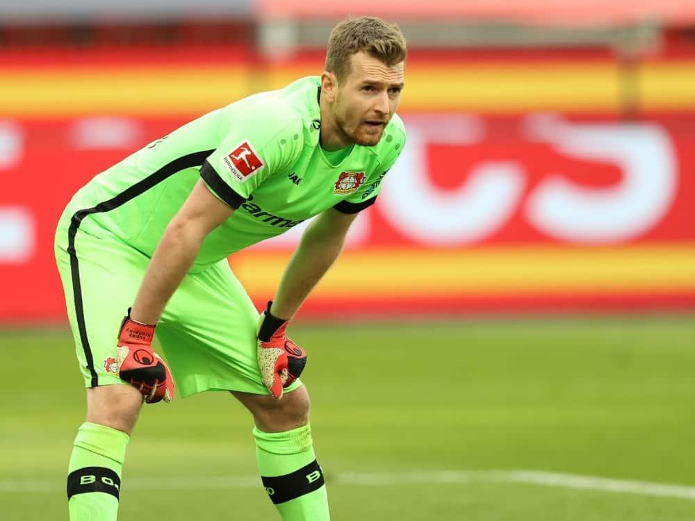 Lukas Hradecky spielt seit 2018 für Bayer Leverkusen. ©FIRO/SID