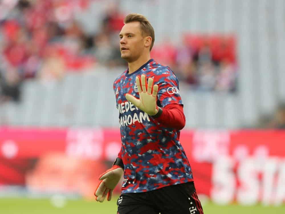 DFB: Neuer verpasst auch das zweite Training unter Flick. ©FIRO/SID